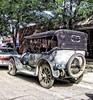 Miles City ~ Montana ~ Old Covertible 1918 Cadillac Touring Car (Onasill ~ Bill Badzo) Tags: montana milescity mt urbanstreet old vintage onasill convertible 1918 cadillac blue photo touring car vehicle