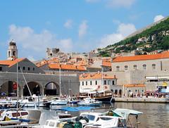 Croacia-Dubrovnik-puerto (Aproache2012) Tags: dubro costa dálmata croaci navega islas mediterráneo mar vacaciones playas ve