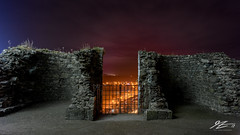 See For Yourself (Tim van Zundert) Tags: hdr harlech castle gwynedd merionethshire north west wales night evening long exposure gate walls architecture scenic sony a7r voigtlander 21mm ultron