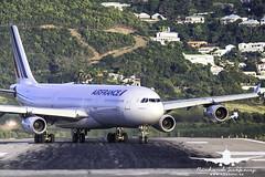 Air France A340-300_AH3V5479 (RJJPhotography) Tags: sxm princessjulianainternationalairport caribbean tncm saintmaarten
