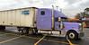 I Thought That I Would Never See (BKHagar *Kim*) Tags: bkhagar truck semi purple machine vehicle parkinglot