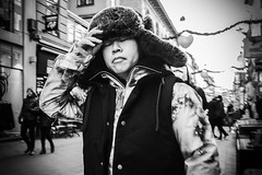 Images on the run.. (Sean Bodin Images) Tags: streetphotography streetlife strøget copenhagen candid citylife christmas2016 urbanlife urban fujifilm reportage photojournalism people