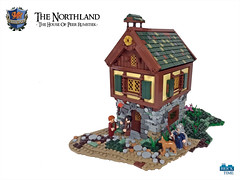 The House of Peer Rumstiek (Wochenender) Tags: brick time house lego medieval fantasy dollhouse foliage nature timber chrono norcan dunholm