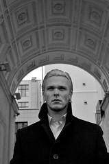 DSC_0979 (Katharina Berliner) Tags: blackandwhite boy handsomeboy man mansportrait portrait moscow winter style