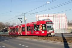 DUEWAG MGT6D NF6D der Bogestra (Vitalis Fotopage) Tags: gelsenkirchen nordrheinwestfalen deutschland nf6d mgt6d eef duewag niederflur strassenbahn strasenbahn tram bahn bogestra bochum streetcar siemens