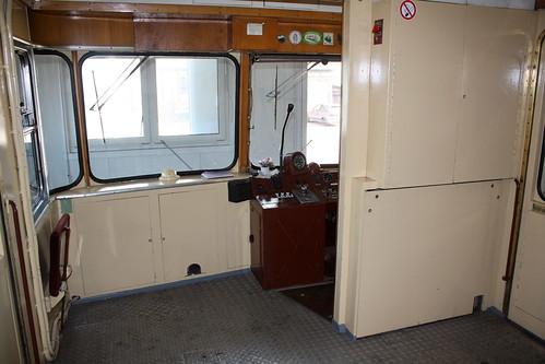KML: Gepäckraum und Führerstand im VT 405