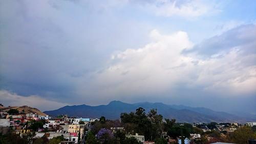 Rain on the mountain
