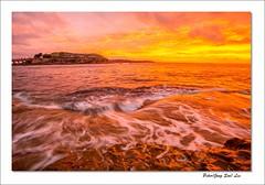 Golden sunset (jongsoolee5610) Tags: sunset laperouse sydney australia sydneysunset bareisland wave
