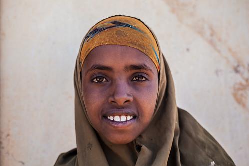 Girl portrait, Somaliland