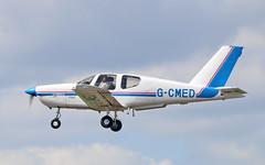 G-CMED SOCATA TB.9 Tampico (PlanecrazyUK) Tags: fly in sturgate 070615 egcv socatatb9tampico gcmed