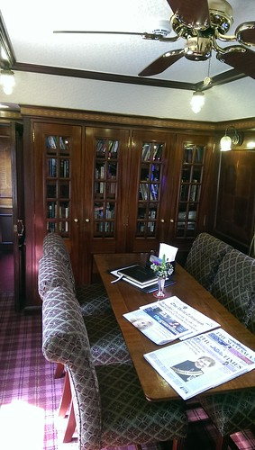 Royal Scotsman library