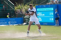 Marcel Granollers (Pam & Ben) Tags: nottingham england nikon unitedkingdom atp tennis gb d800 24120