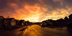 Sunset - June 9th (2 of 6) (Quentin Biles) Tags: sunset panorama art canon nc sigma northcarolina 3514 newbern 5d3 5dmarkiii