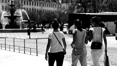(mgkm photography) Tags: urban blackandwhite bw blancoynegro monochrome 50mm calle bokeh lisboa lisbon streetphotography gimp streetphoto rua pretoebranco f28 streetshot urbanphotography lisboetas lisboanarua ilustrarportugal d7000 bokehphotography bokehstreet