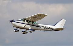 G-BORW Cessna 172P (PlanecrazyUK) Tags: fly in sturgate 070615 egcv