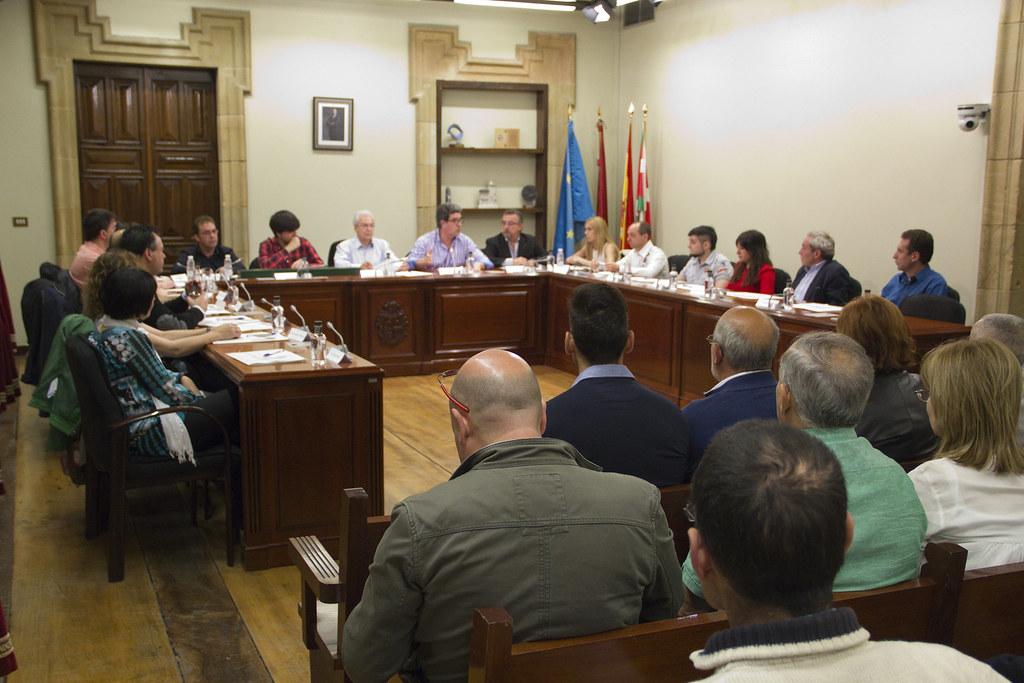 Imagen genérica del Pleno municipal