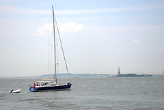 DSC_0083 (katie-landry) Tags: city nyc newyorkcity blue summer vacation newyork water statueofliberty theempirestatebuilding youngphotographers nikond3000