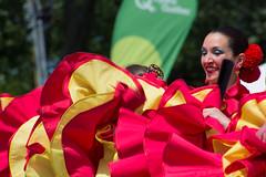 MONDIAL DES CULTURES - SOUVENIRS - ESPAGNE / SPAIN (BLEUnord) Tags: canada dance spain dancers folk folklore danse espagne cultures mondial danseurs provincedequbec folkloric drummondville folklorique folklorik mondialdescultures