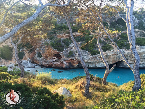 Cala del Moro & Cala s'Almunia y su agua color turquesa