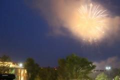 *smoky fireworks in Durango, Colorado* (^i^heavensdarkangel2) Tags: nightphotography light holidaylights durango fathersky desbahallison heavensdarkangel2 ihda~desbahallison