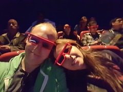 3D movie at aquarium