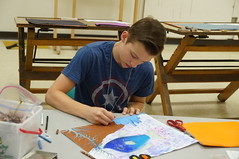 Middle School Art Camp 2015