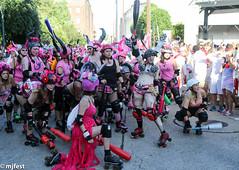 Running of the Bulls (MJfest) Tags: us louisiana unitedstates neworleans rollerderby rollergirls bulls nola sanfermin runofthebulls nolabulls canon5dmarkiii 5dmarkiii