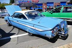 1961 Chevy Impala (bballchico) Tags: 1961 chevrolet impala lowrider juanespinoza patronscarshow 206 washingtonstate patrons car club seattle