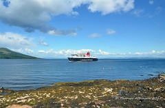 MV CALEDONIAN ISLES, Approaching Brodick (Time Out Images) Tags: island scotland clyde united north kingdom calmac brodick isles arran mv firth caledonian ayrshire
