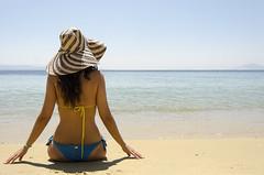 (Grigoris Karvounarakis) Tags: portrait woman seascape beach greece outline seashore skiathos supershot flickrsbest abigfave beautyofwater bestportraitsaoi