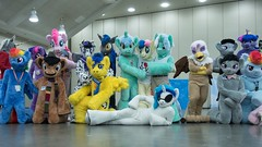 Bronycon 2015 (hennpict) Tags: horse toys downtown cosplay baltimore pony stuffedanimals convention mylittlepony bronycon
