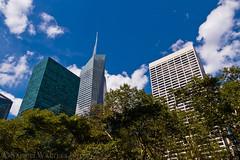 Above Bryant Park (SamuelWalters74) Tags: newyorkcity newyork unitedstates manhattan midtown bankofamericatower gracebuilding 1095avenueoftheamericas
