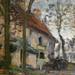 PISSARRO Camille,1870 - Diligence à Louveciennes (Orsay) - Detail 16