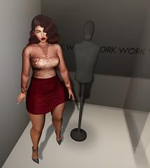 FASHION ADVISORY #93 WORK WORK WORK (Fashion Advisory) Tags: eccloth secondlife kendrasy littlebones collabor88 slfashion avatars 3d virtual treschic