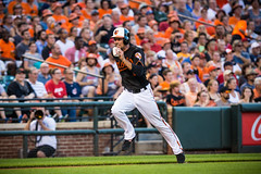 Orioles Baseball '16 (R24KBerg Photos) Tags: 2016 baltimoreorioles baltimore ballpark baseball orioles orioleparkatcamdenyards canon camdenyards mlb majorleaguebaseball majorleagues maryland md sports jjhardy runner shortstop aleast americanleague al