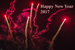 ... Happy New Year ... (wolli s) Tags: 2017 happynewyear new year fire fireworks feuerwerk red rot years eve silvester newyearseve explore explored