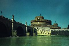 Castel Sant'Angelo (>Ace<) Tags: fujiprovia400f rhpiii xpro cross process contaxg1