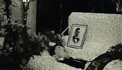 In Repose (~ Lone Wadi ~) Tags: coffin casket death funeral wake retro 1930s corpse deceased postmortem unknown