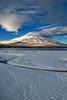 Lake Yamanaka morning snowscape (shinichiro*) Tags: 南都留郡 山梨県 日本 jp 20170109ds41607editeditedit 2017 crazyshin nikond4s afsnikkor2470mmf28ged january winter fuji lakeyamanaka morning