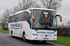NH16EEH  National Holidays (highlandreiver) Tags: nh16eeh nh16 eeh national holidays mercedes benz tourismo bus coach gretna green scotland scottish