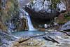 Salto nascosto (Finsty) Tags: water acqua cascate fiume torrente stream grigna parco delle grigne lecco bosco rocce waterfall italy alps