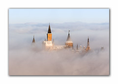 Hohenzollern - Castle in the clouds (MC-80) Tags: hohenzollern burg castle hechingen albstatdt schwäbische alb wolken clouds sunrise sonnenaufgang sea wolkenmeer nebel mist canon 70300l ef70300l 7dmkii 7dii winter snow schnee germany deutschland bisingen 855 m ü nn zellerhornwiese zeller horn outdoor