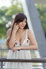 DSC_5250 (錢龍) Tags: 陳葳 d700 美術館 nikon 外拍 美胸 beauty girl sexy