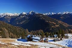 Winklerner Huette (Vid Pogacnik) Tags: austria alps schobergroup mountain hiking landscape outdoor panorama hut mountainside mountainridge