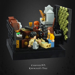 Harry Potter and the Deathly Hallows – 06 Kreacher's Tale (Umm, Who?) Tags: lego harry potter deathly hallows jk rowling warner brothers ron hermione britain magic chapter 10 kreachers tale 12 grimmauld place