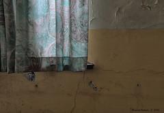 School's Out (Marian Smeets) Tags: schoolsout school urbex urbexexploring abandoned decay vervallen verlaten mariansmeets nikond750 2016 belgium belgie gordijn curtain