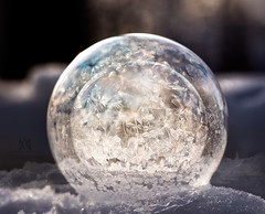 double bubble (marianna_a.) Tags: double two frozen bubbles ice crystals spheres globes inside macro outdoor mariannaarmata winter happy sliders sunday psd panasonic lumixgh4 lumixstories