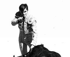 Intense (aficion2012) Tags: arles novillada septembre 2016 blohorn jalabert corrida france francia andy younes novillero faena toros bull fight bullfight toreaux monochrome bw nb bn monotone suertedematar