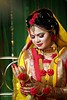 Pretty lady (Safaria Suhas) Tags: people wedding yellow red bangladesh canon bride pretty late night smoke light