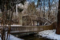 Besuchertribüne (Roman Achrainer) Tags: hellabrunn münchen tierpark zoo giraffen tribüne giraffengehege aufbau winter schnee achrainer